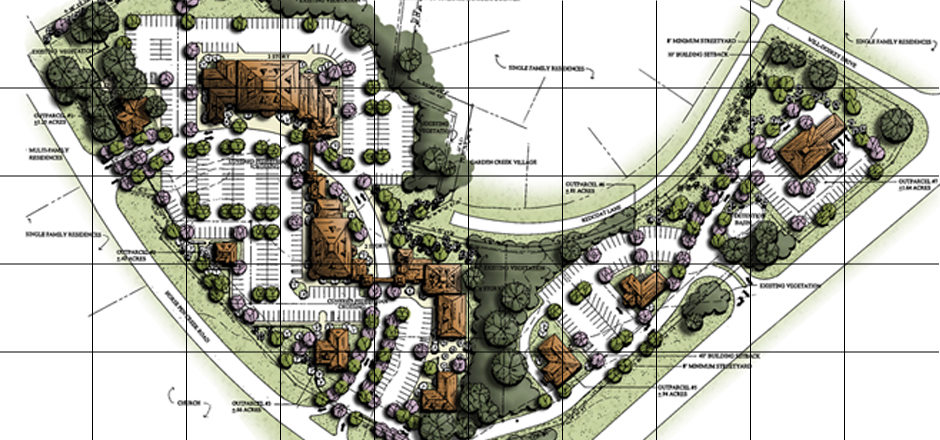 Residential Landscape Architecture Plan about mla - miller landscape architecture